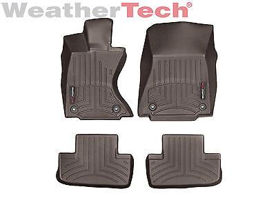 WeatherTech Floor Mats FloorLiner for Lexus RC w/ AWD - 2015-2019 - Cocoa
