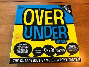 Over Under - Board Game