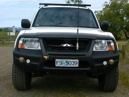 2004 Mitsubishi Pajero Wagon Trevallyn West Tamar Preview