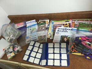 Various scrapbooking items