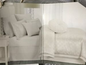 New in bag white queen 7 piece bed comforter set