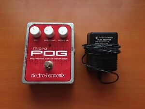 Micro Pog Octave Generator Pedal