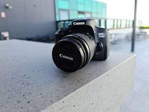 Canon EOS 750D with an 18-55mm lens