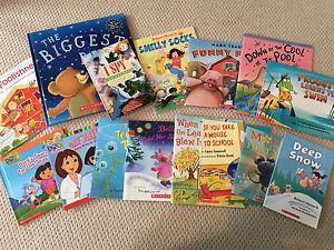 Lot of 15 children's books
