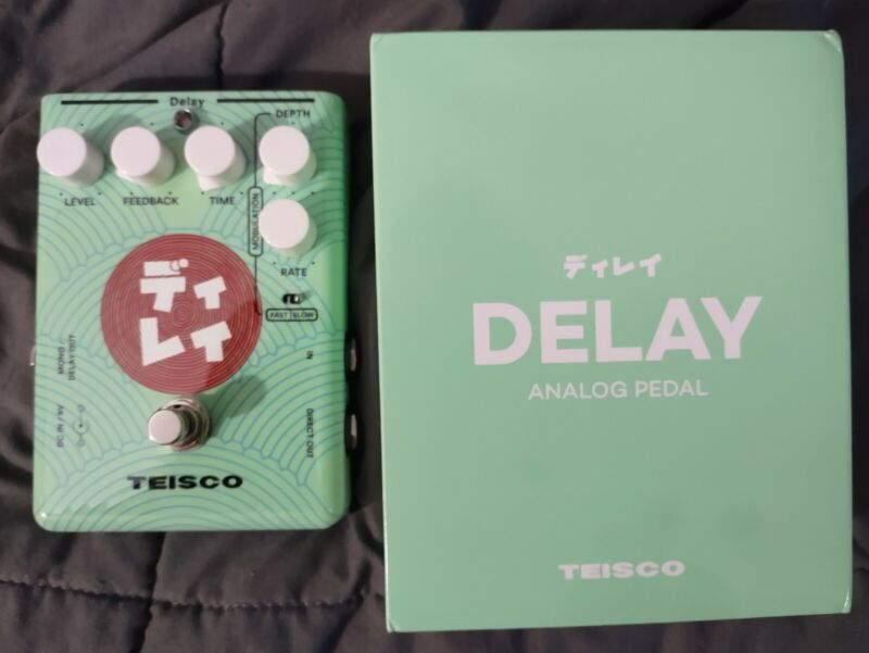 Teisco Delay Effects Pedal