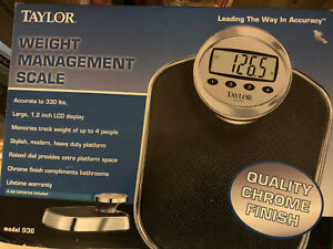Taylor weight management scale