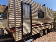 CARAVAN, TANDEM AXLE, REV CYCLE AIR COND, 16 FT7, ISLAND BED. Geelong Geelong City Preview