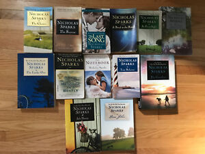 BOOKS ~ Nicholas Sparks Collection ~ Jodi Picoult   LIKE NEW
