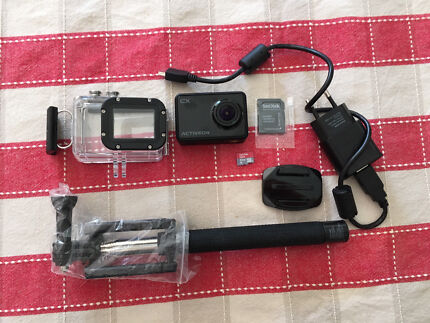Activeon Action camera with accessories