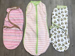 SLEEP SACKS 3 Newborn 1 used 2 New
