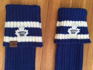 Toronto Maple Leafs leg warmers by Roots