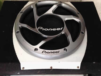 "Pioneer's Champion Series 12"" Subwoofer Loaded in Pioneer Enclosure"