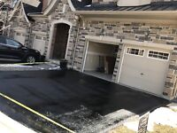Professional Driveway Sealing-Ramps-Potholes-Oil Spot Cleaning