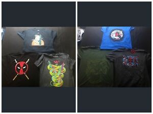 """Comic, movie and video game """"Men's XL"""" T-shirts"""