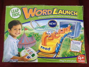"LeapFrog Word Launch ""learn to read sounds"" plug-and-play"