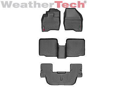 Weathertech Floor Mats Floorliner For Ford Explorer   2017   Black