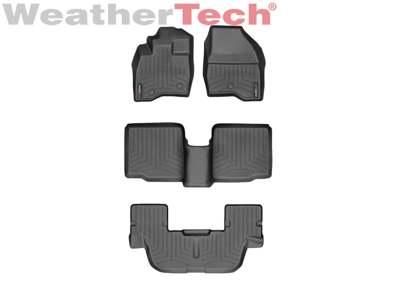 Where to buy weathertech floor mats - Weathertech Floor Mats Floorliner For Ford Explorer 2017 Black