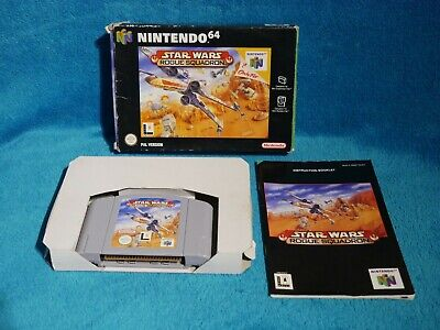 Star Wars: Rogue Squadron - Nintendo 64, N64 Boxed - Retro - Complete & Tested