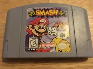 Nintendo 64 N64 Super Smash Bros. Cartridge game
