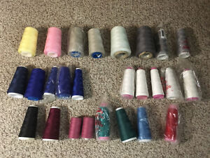 26 Spools of Polyester Thread