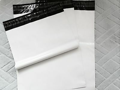 200 9x12 White Poly Mailer Bag Best Quality Made Of Pure Plastic Material