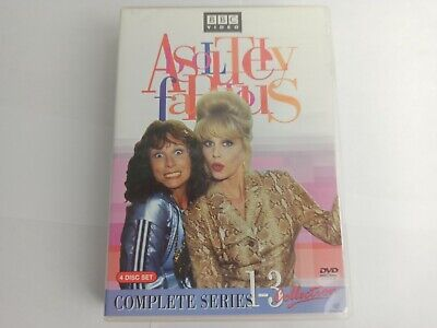 Absolutely Fabulous - The Complete Collection: Series 1-3 (4-DVD, 2006)