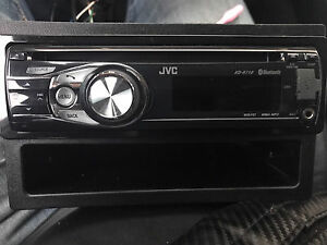 ^^** JVC USB AUX BLUETOOTH CAR STEREO DECK HANDS FREE CALLING!