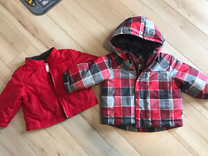 12 Month Size Winter Jackets