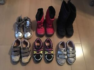 Toddler girl shoes and winter boots