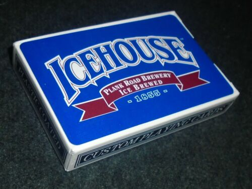Vintage Icehouse Beer, By Miller Brewery Boxed Deck of Playing Cards
