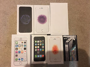 iPhone Boxes with manuals - $20 each
