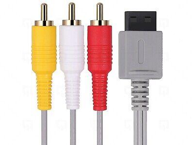 AV Cable for Nintendo Wii TV Wii U Wii Mini Lead Composite...