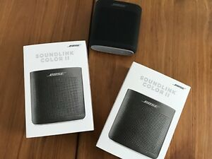 *NEW* Bose SoundLink Colour II Black Bluetooth Speaker Water Res
