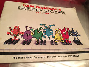 John  Thompson easiest piano course level 1
