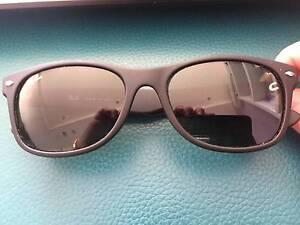 Classic Black Ray-Ban New Wayfarer Matte Sunglasses Franklin Gungahlin Area Preview