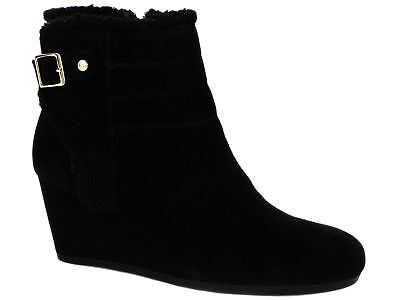 - Giani Bernini Women's Pattii Cold-Weather Fashion Boots Black Suede Size 10 M