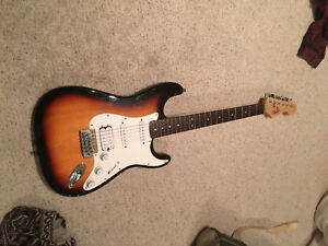 Squire electric guitar great condition