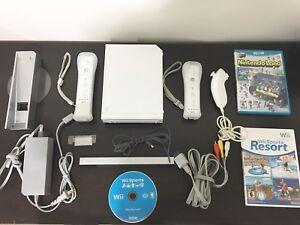 Nintendo Wii plus Mario Resort and Wii Motion Plus