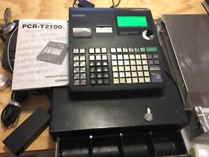 Selling a Used Cash Register Casio PCR -T2100
