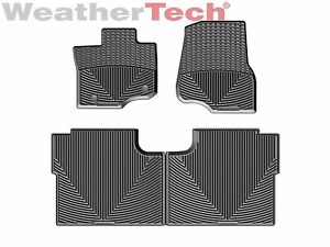 WeatherTech All-Weather Floor Mats for Ford F-150 Crew Cab - 2015-2018 - Black