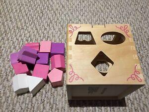 Cubes trieur de formes