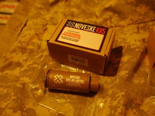 Noveske w/ Built-In ACETECH Lighter S Ultra Compact Rechargeable Tracer-KX5 FDE