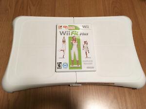 Nintendo Wii balance board & Wii Fit Plus game