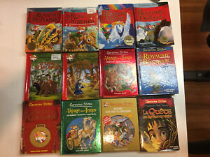 Lot de livres Geronimo Stilton
