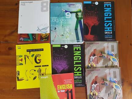 English Text Books Years 8 - 11