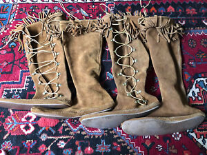 Moccasins-women's size 10 2 pairs