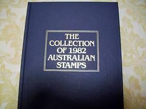 Australian Post, Annual Year Books with mint  Stamps 1982 Mildura Centre Mildura City Preview