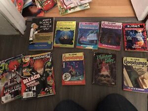 Goosebumps Books and others