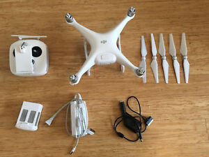 DJI Phantom 4 with extra battery and backpack