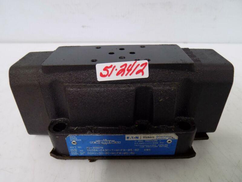 EATON VICKERS CONTROL VALVE DG5S4-043C-T-M-FW-B5-60